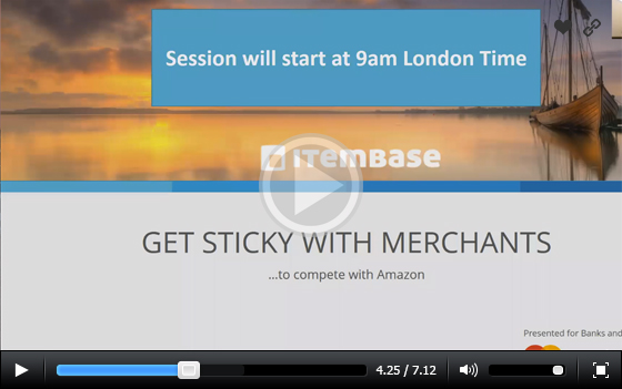 Get sticky with merchants to compete with Amazon – A Mastercard Webinar